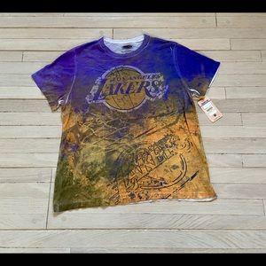 Vintage Lakers Tie Dye T-shirt